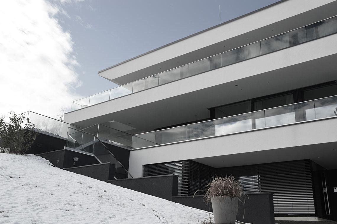 Haus l di zt alexander gurmann architektur for Modernes haus graz