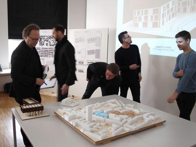 Gurmann Archtiektut TU Graz Entwerfen 3